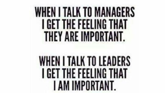 Ben jij een manager of een leider?
